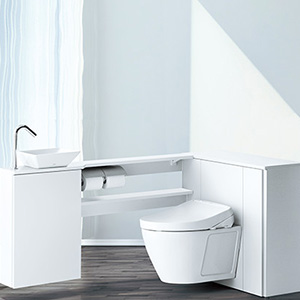 収納付き(システム)トイレの特徴
