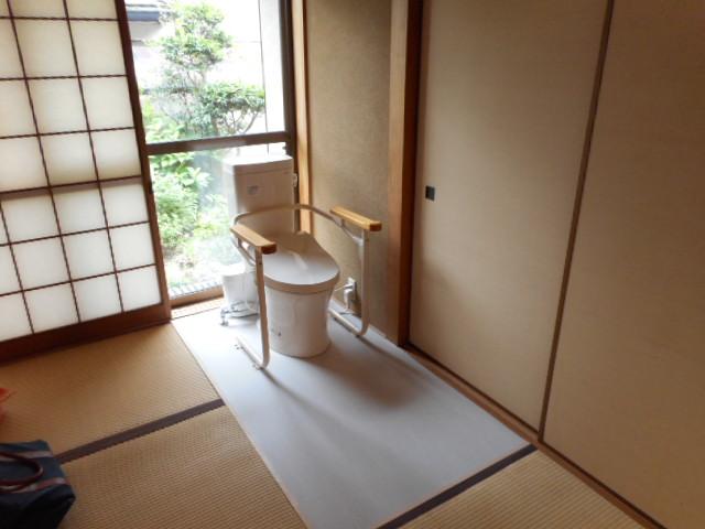 寝室に介護用トイレを『排水圧送ポンプ SFA サニアクセス3 ...