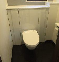 快適になったトイレのリフォーム